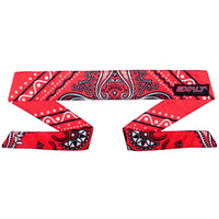 Exalt Headband - Bandanna Red