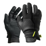 ProDNA Sicario Black Gloves with rubberized palm and Velcro Cuff