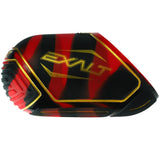 Exalt Tank Cover Medium Sized Regal Red/Black Swirl with Gold Accents