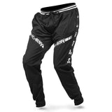 HK Army TRK Jogger Pant in Black with HK Skulls down the side - Side View