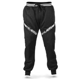 HK Army TRK Jogger Pant in Black with HK Skulls down the side - Front