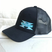 Baseball Snap Back Mesh Cap