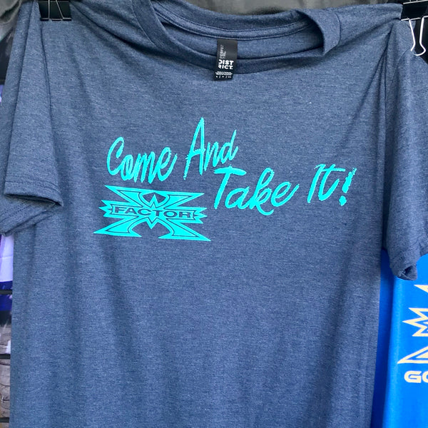 X Factor Paintball T-Shirt - Come and Take It Chalkboard