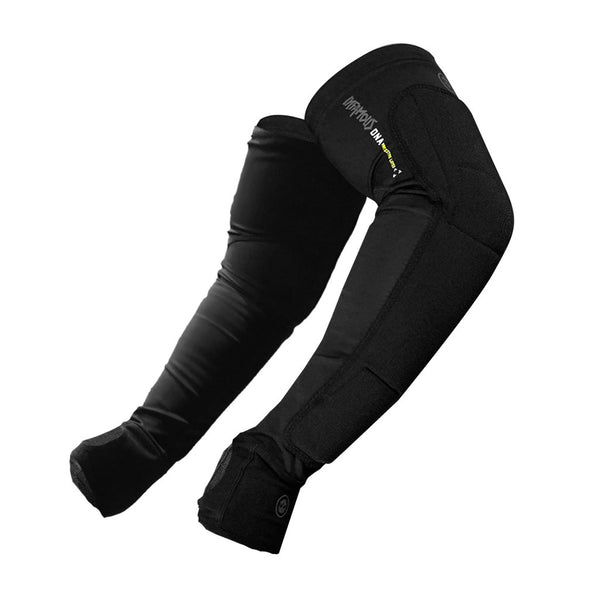 Infamous Paintball Arm Pads - Black