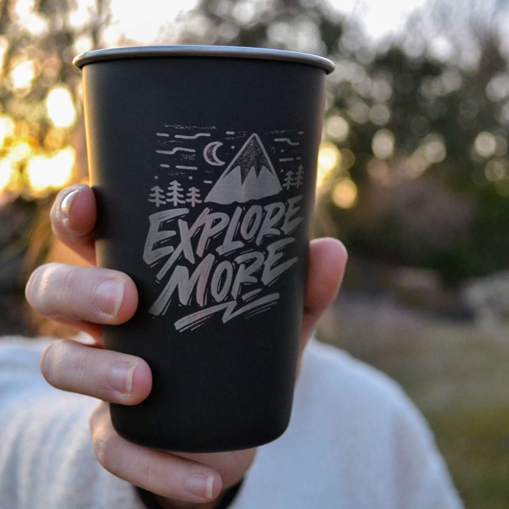 Explore More Pint Cup 16oz
