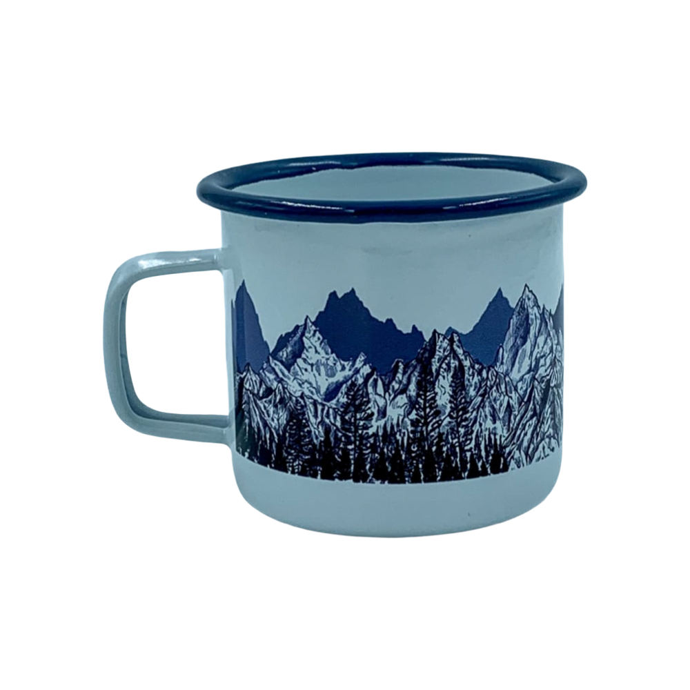 The Summit Metal Mug