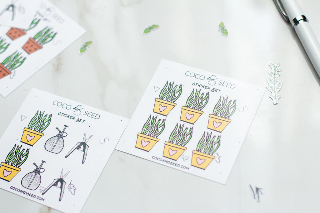 Mother Of Plants sticker sets