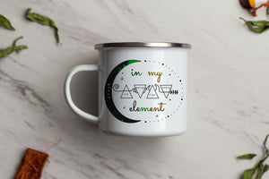 In My Element Enamel Mug