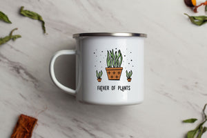 Father of Plants Enamel Mug