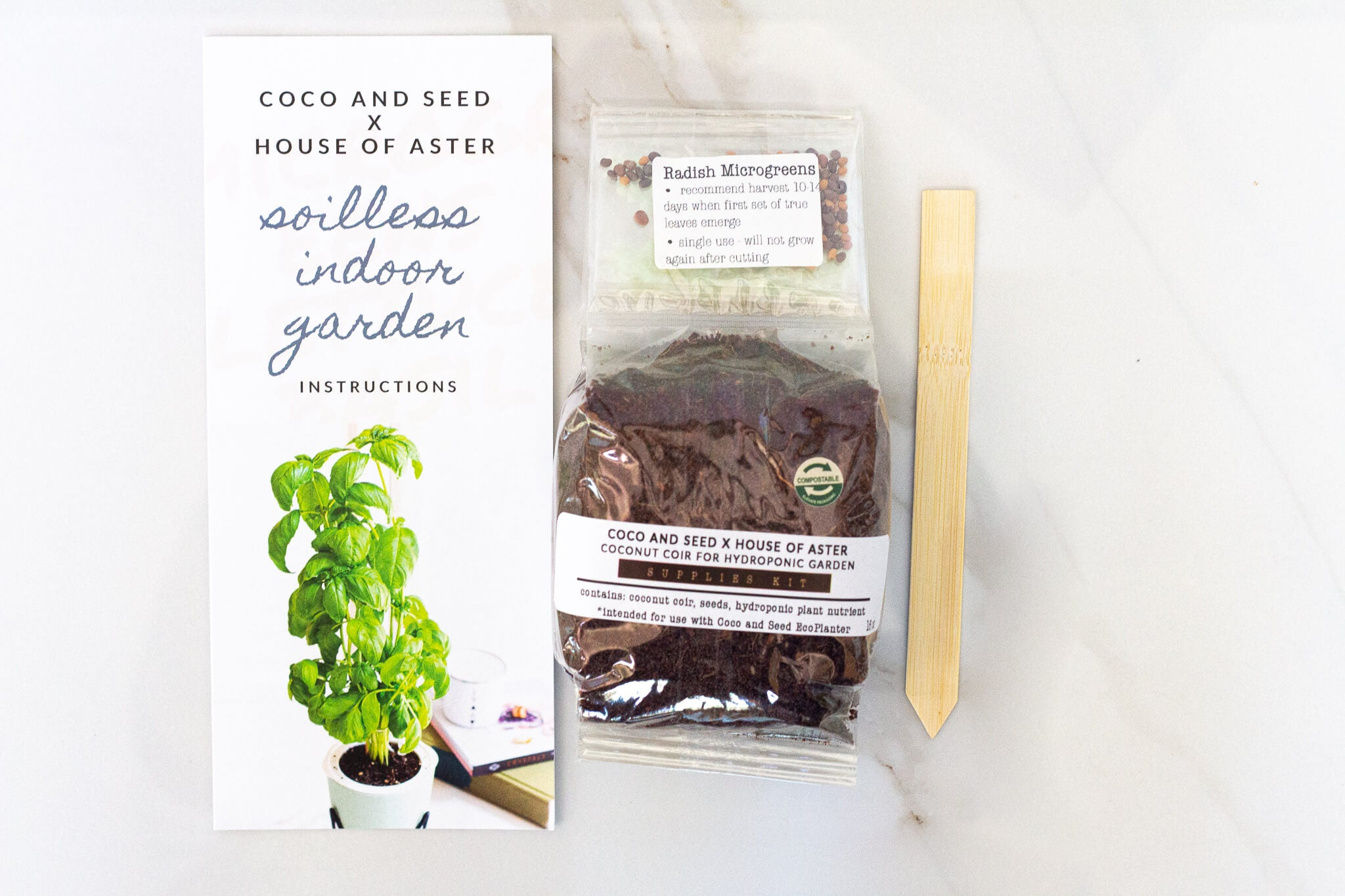 Refill Packs for EcoPlanters - Coco and Seed x House of Aster