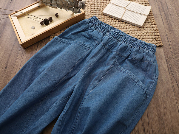 2019 NEW! Casual Denim Trousers