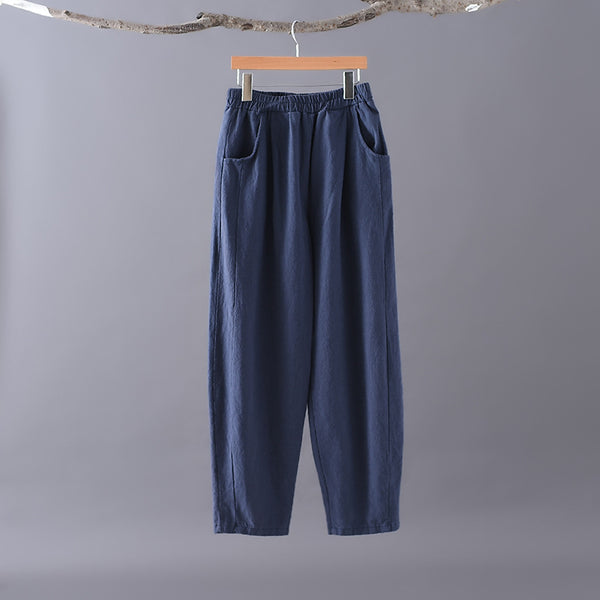 2020 WINTER NEW! Women Casual Style Linen and Cotton Harem Lantern Pants