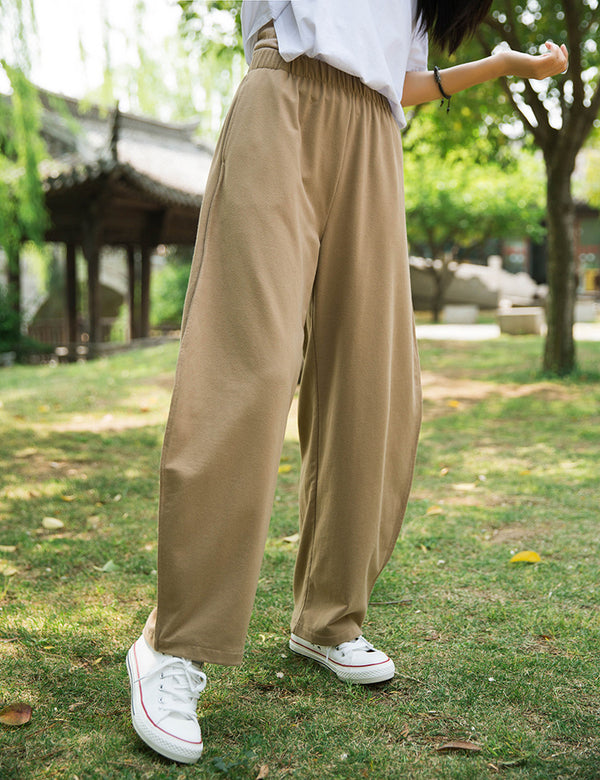2020 SUMMER NEW! Women Loose Sporty Style Cotton Lantern Pants