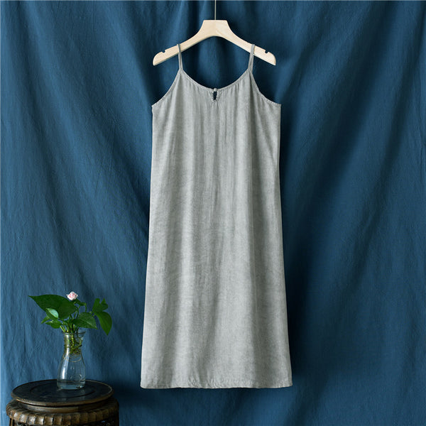 2020 SUMMER NEW! Women TENCEL Slip Dress