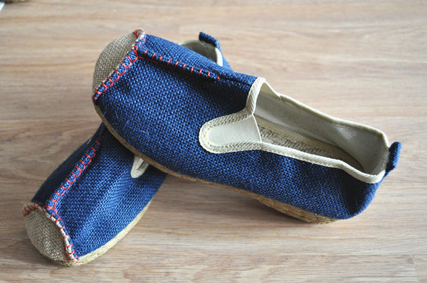 Asian Style Linen Shoes