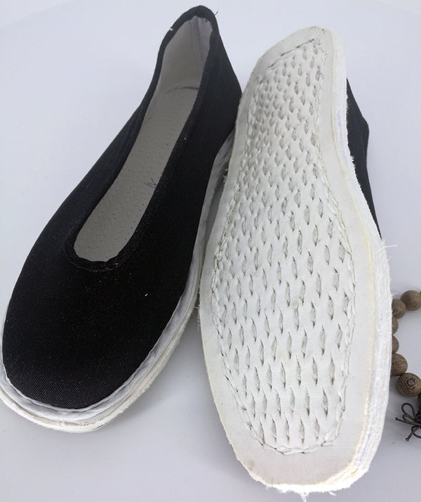 Hand Made Simple Linen and Cotton Shoes