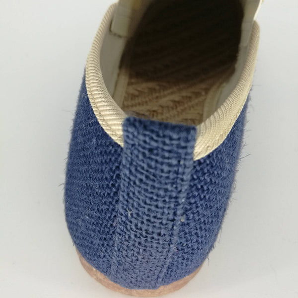 Simple Pure Natural Linen Slip Shoes