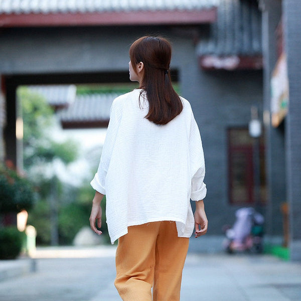 Simple Loose Comfort Long Sleeve T-shirt