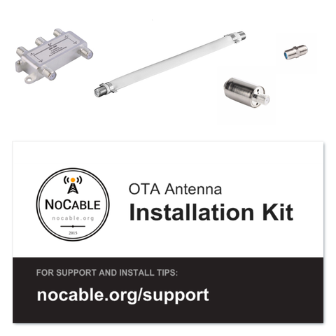 OTA TV Antenna Install Kit