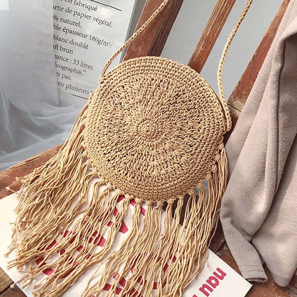 Bohemian Women Straw Bag