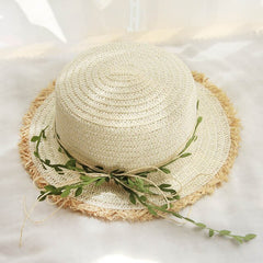 Straw Hat Female Rattan