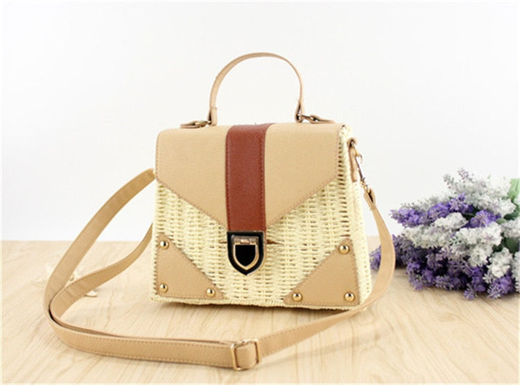 Straw Bags for Women Beach Handbag Summer