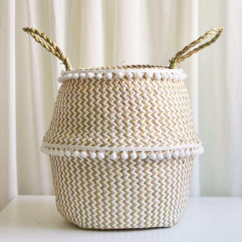 Foldable Handmade Storage Basket