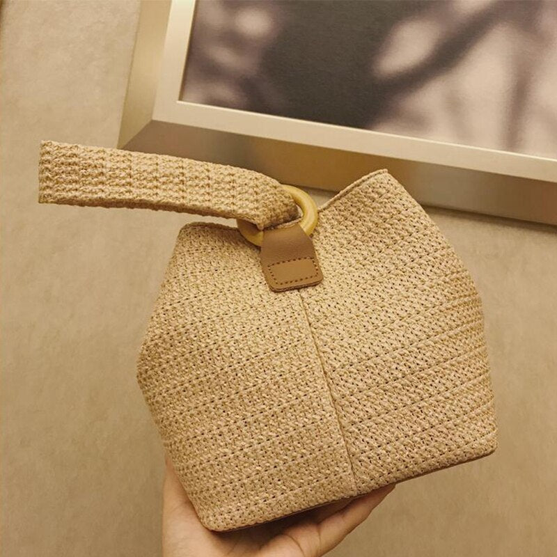 Rattan Summer Women Handbag