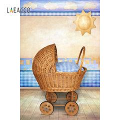 Baby Trolley Pregnant Mother Painting
