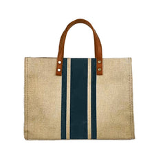 Straw bag Linen Beach Big Tote
