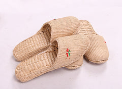 Wicker shoes Summer rattan