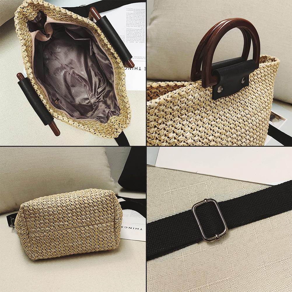 New Luxury Crossbody Straw Bag