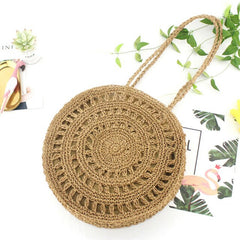 Wicker Handbag Bag Tote Beach