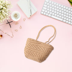 Holiday Bag Women Woven straw