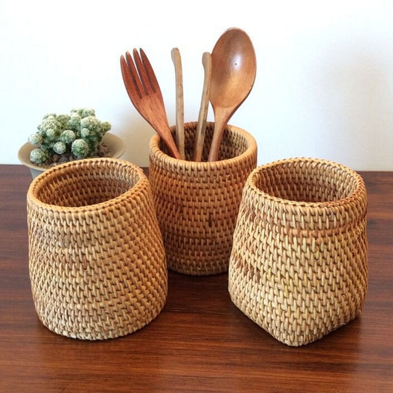 Basket for spoons knives forks