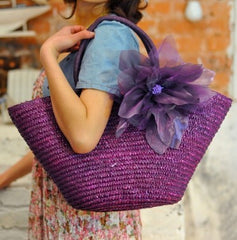 Straw Fashion Bag  New Hot Summer