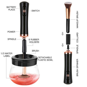 Glam Makeup Brush Cleanser - Sleekily