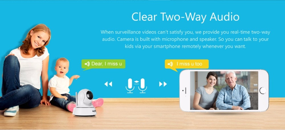 Wi-Fi Wireless Mini Network Camera - Sleekily