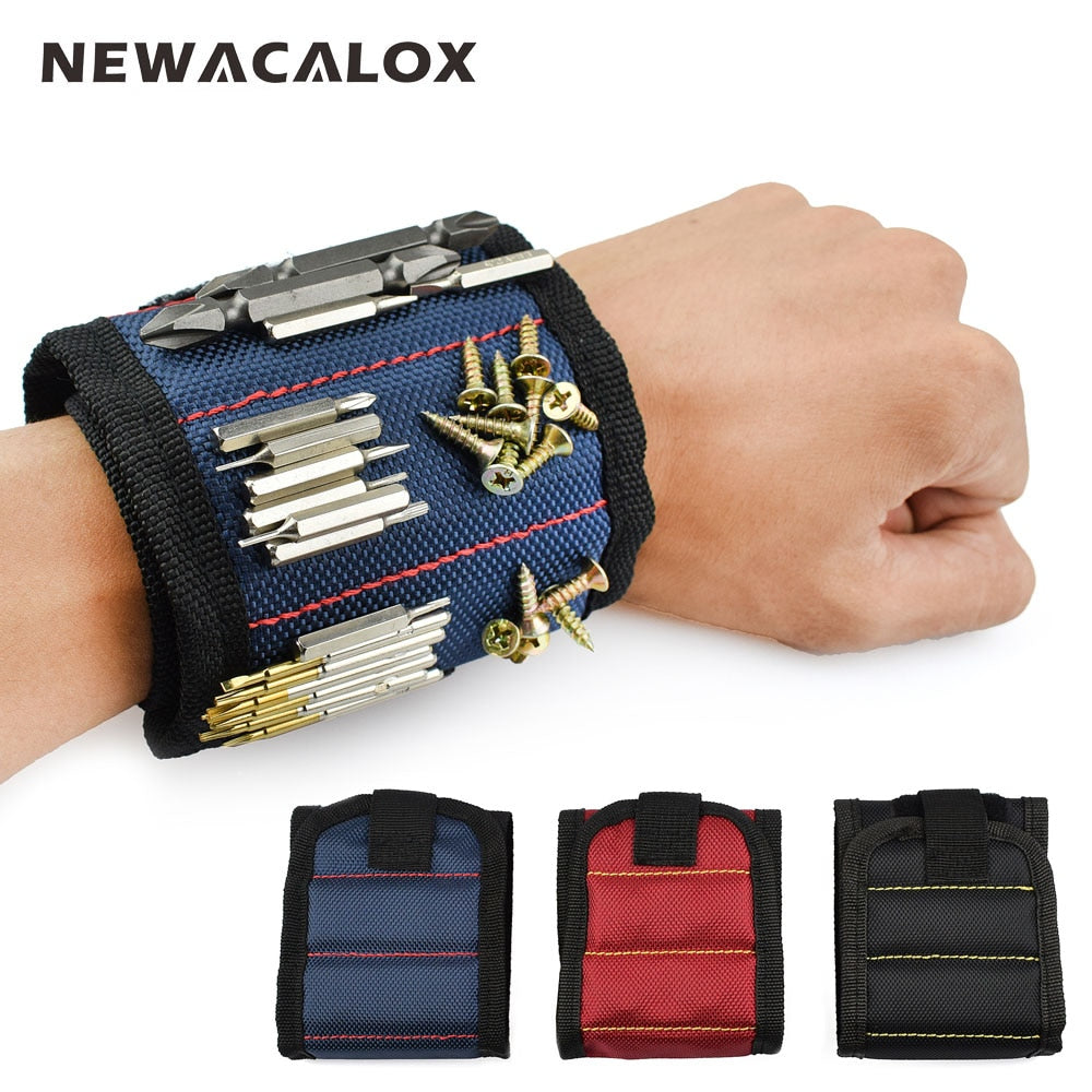 Magnetic Wristband Portable Tool Bag - Sleekily