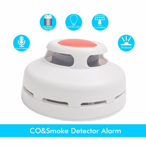 Smoke Detector With Voice Fire Alarm - Sleekily