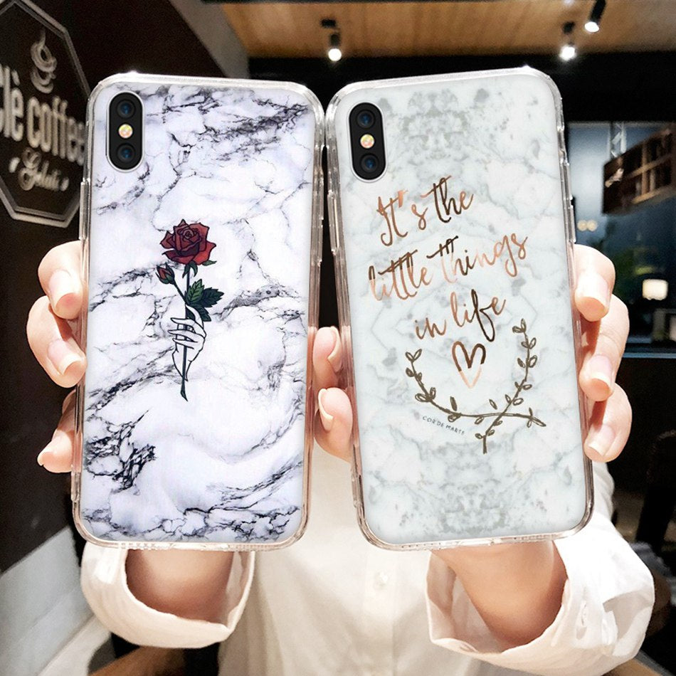 Marble Phone Case For iPhone - Sleekily