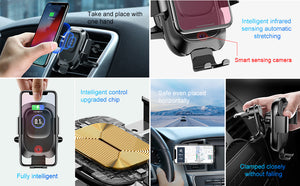 Car Wireless Charger For iPhone - Sleekily