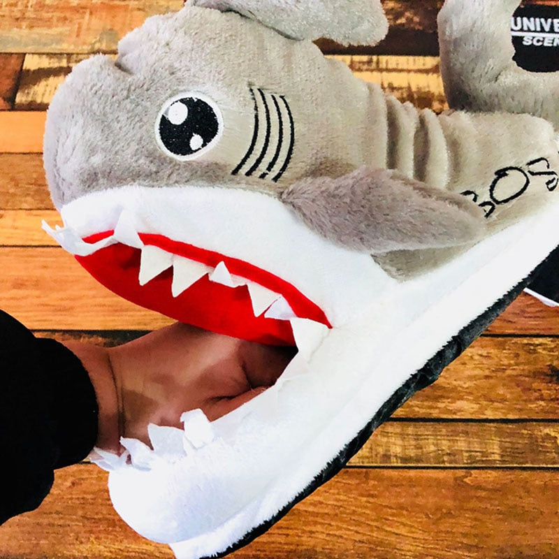 Unisex Shark Slippers - Sleekily
