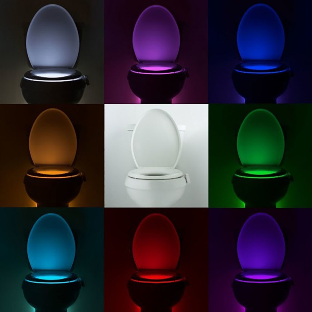 Smart Motion Sensor Toilet Night Light - Sleekily