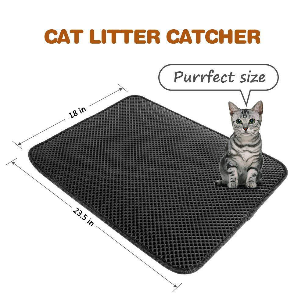Waterproof Cat Litter Mat - Sleekily