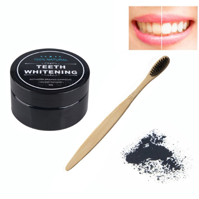 Teeth Whitening Charcoal Powder - Sleekily