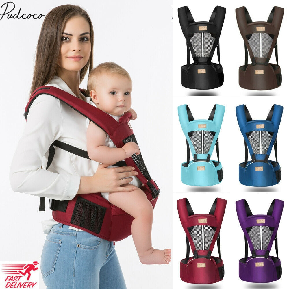 Baby Carrier With Hip Seat - Sleekily