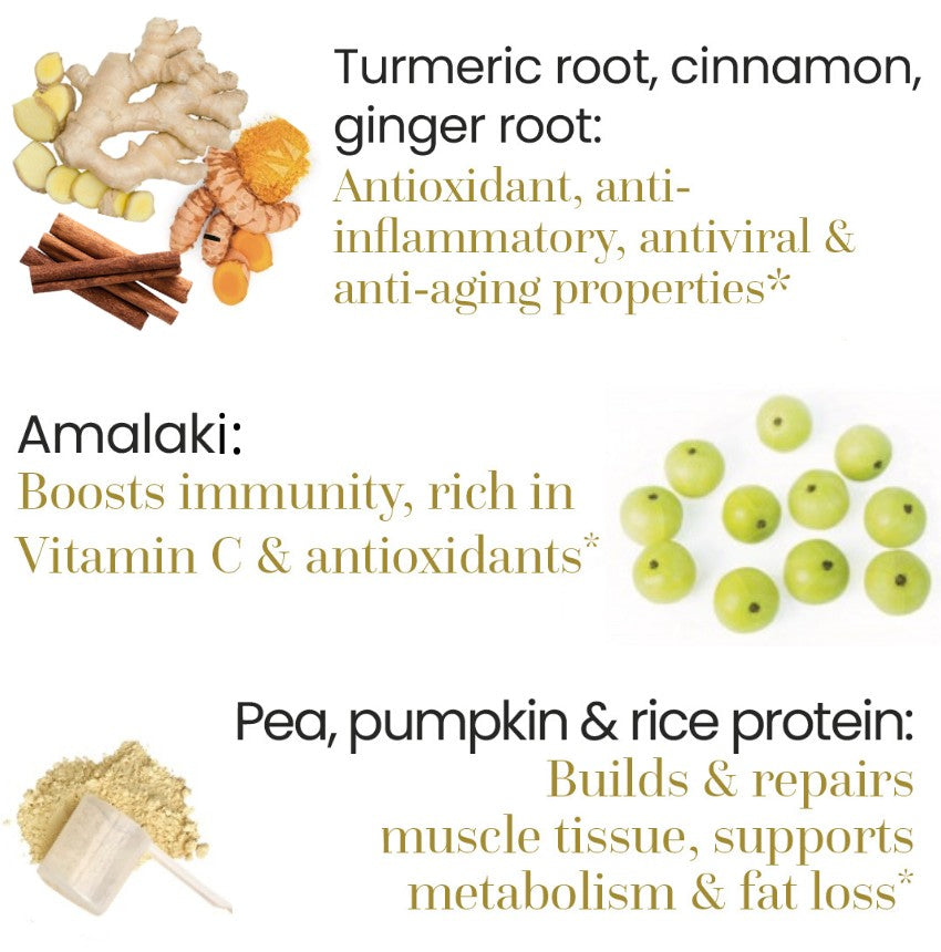 High quality ingredients ayurvedic protein