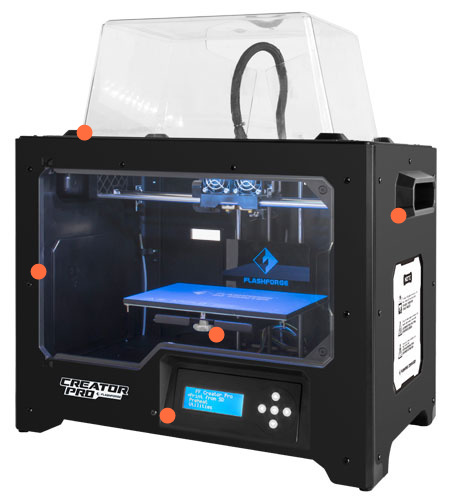 Creator Pro 3D Printer - Flash Forge