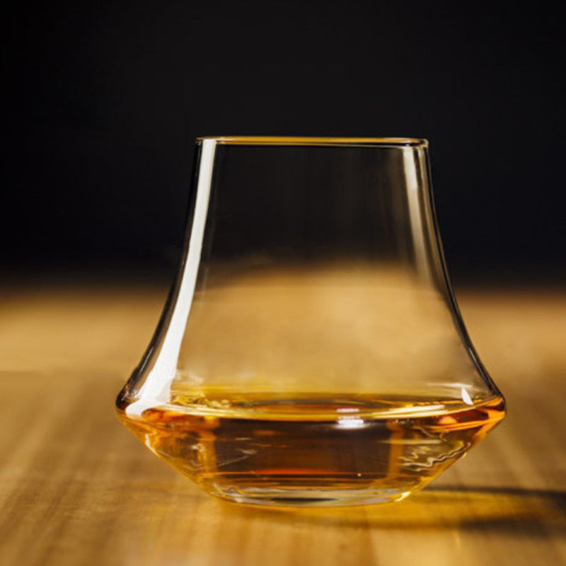 Wide Belly Whiskey Glass